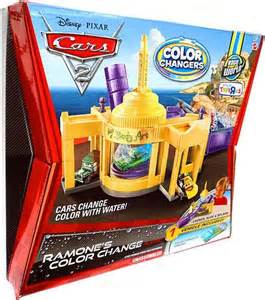 ramones color change playset disney cars cars 2 color changers ramones color change