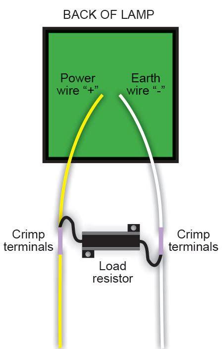 what ohm resistor for led on 12v led autols lr12 2 load resistor 12v 6 ohms blister