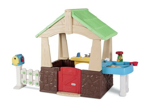 tikes deluxe home and garden playhouse ebay
