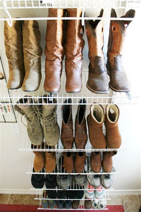 organize shoes how to organize shoes in the laundry room or mud room