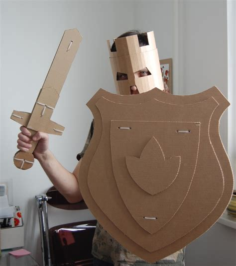 cardboard shield template hello wonderful 12 cardboard costumes for