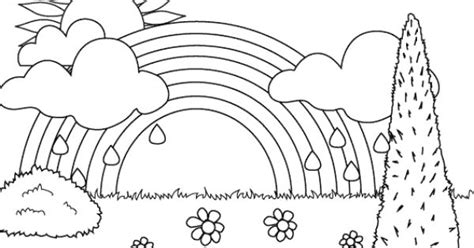 rainbow coloring page printable coloring pages rainbow