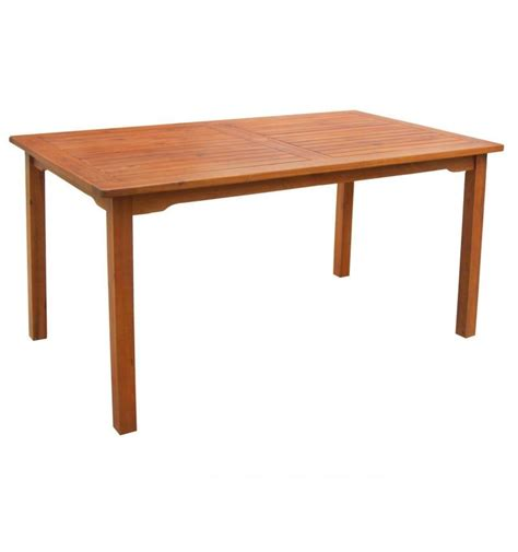 59 inch outdoor dining table 2953929 simply woods