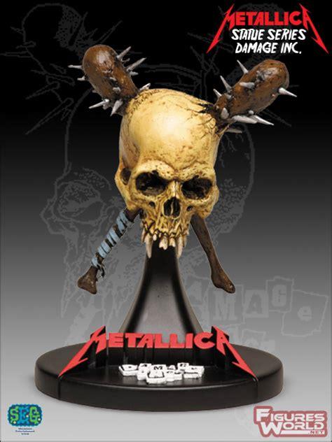 Metallica Statue Damage Inc Figure Figuresworld Gt Gt Metallica