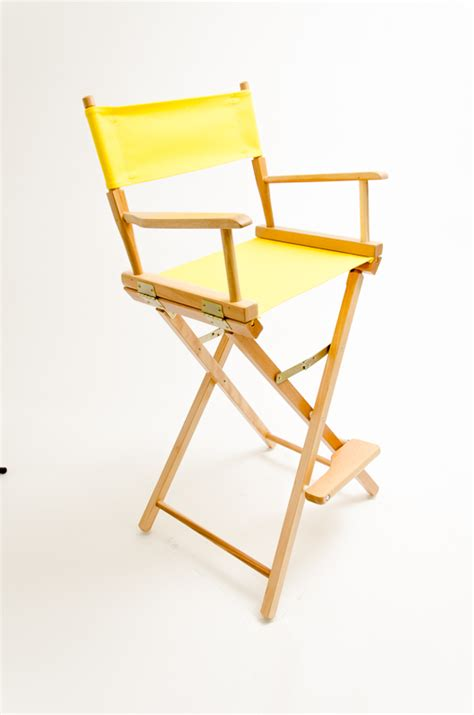 yellow directors chair gold medal directors chair commercial 30 quot yellow