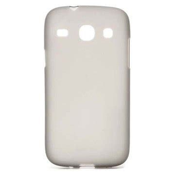 Ready Backdoor Samsung Galaxy Core1 I8262 Casing Cover Tutup flex tpu funda para samsung galaxy i8260 i8262 gris