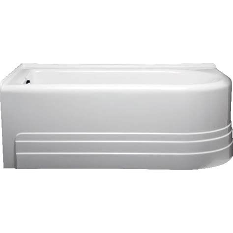 bathtub 60 x 32 americh bow 6032 left handed tub 60 quot x 32 quot x 21