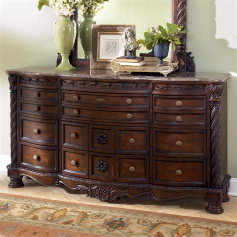 ashley furniture north shore bedroom set price old world stone top dresser rotmans dressers worcester