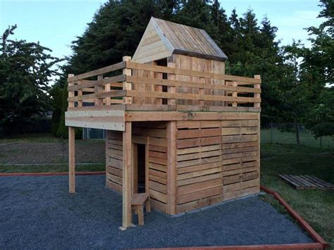 Mini Garden Inside The House Diy Pallet Playhouse For Kids Fun