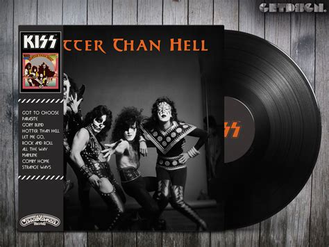 ncb cover design kiss kiss hotter than hell alternative cover hard rock and