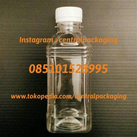 Botol Tesla 250 Ml jual botol 250ml plastik 250 ml botol jus