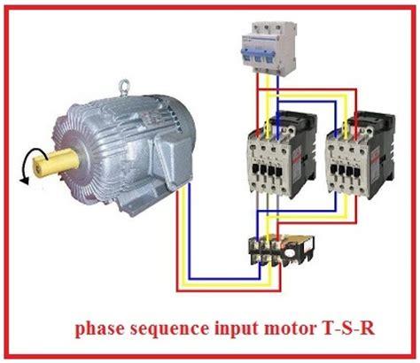 3 phase motor wiring diagram forward three phase motor wiring diagram
