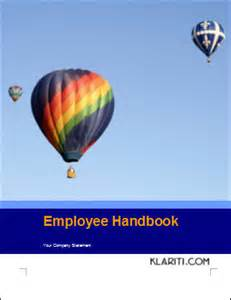 Employee Handbook Cover Page Template by How To Make Employee Handbooks More Interesting