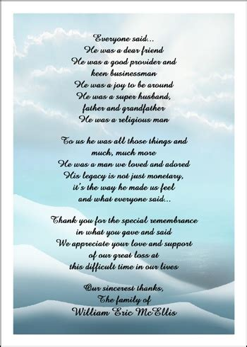 appreciation letter condolences bereavement thank you cards for all your bereaving