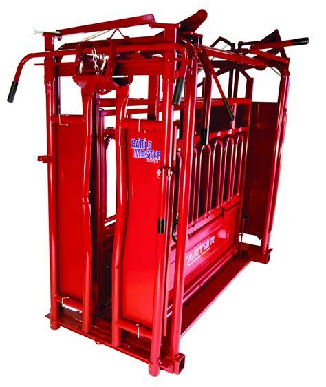 tarter cattlemaster chute  automatic headgate series