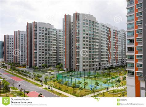 Free Modern House Plans high rise hdb apartments royalty free stock image image