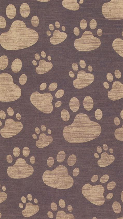 dog print wallpaper paw prints iphone 5 wallpaper 640x1136