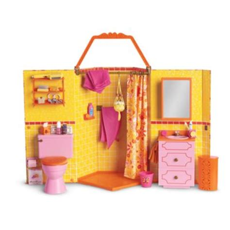 american girl doll bathroom julie s groovy bathroom beforever american girl