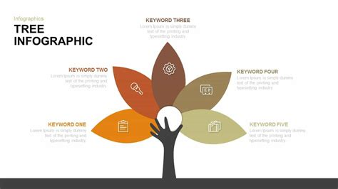 tree infographic powerpoint and keynote template slidebazaar