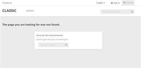 Error 404 Not Found http 404 not found error how to fix it prestashop