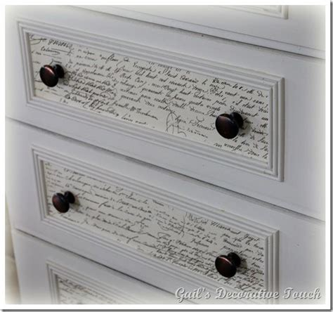 decorating end tables without ls mod podge dresser project on book pages