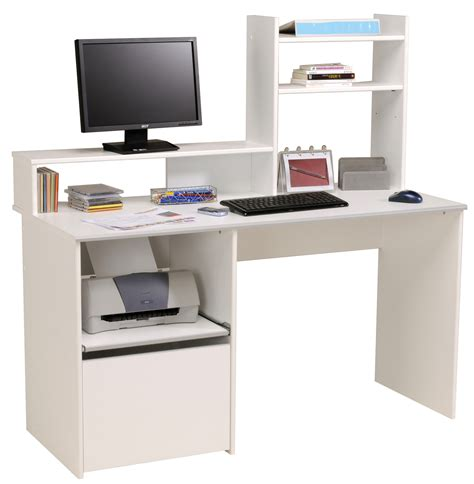 Children S Computer Desk Desk For Computer And Printer Whitevan