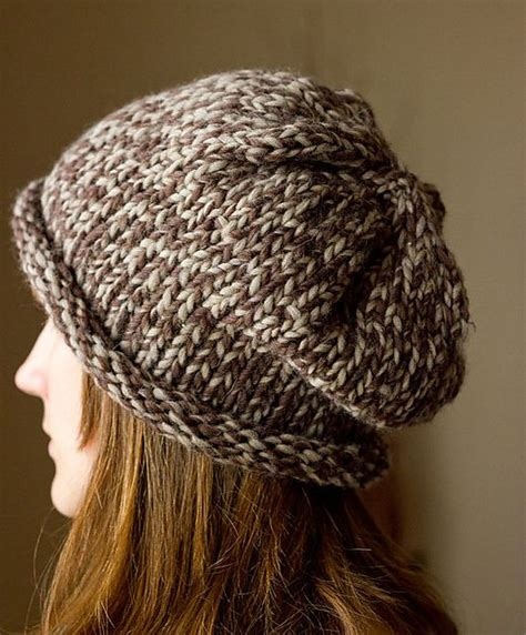 pattern for bulky yarn hat free slouchy hat pattern knitting hat free patterns