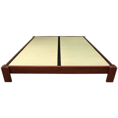 tatami bett tatami platform bed walnut orientalfurniture