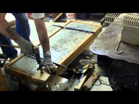 concrete garden bench mold pouring a custom concrete garden bench top youtube