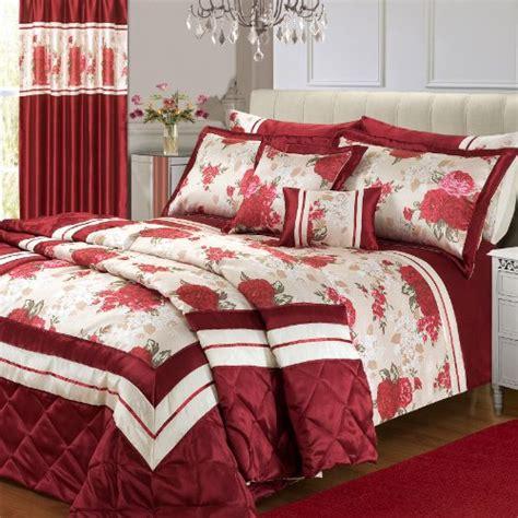 Burgundy Bedspread King Size Burgundy Floral Modesto Modern Bloom