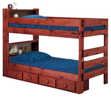 Ameriwood Twin Book Case Bunk Bed With Underbed Storage Ameriwood Bed