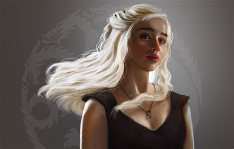 Khaleesi Of Thrones Iphone Dan Semua Hp wallpaper tv series emilia clarke artwork daenerys