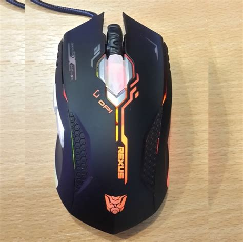 Mouse Gaming Rexus G4 terjual maindatashop gaming mouse rexus avenger x1 g4