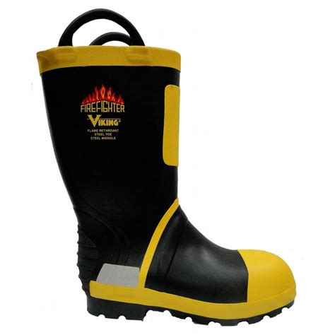 viking fire boat vw90 viking firefighter boot with felt lining and snug fit