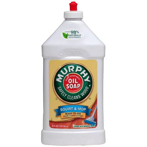 murphy s 32 oz just and mop wood floor cleaner