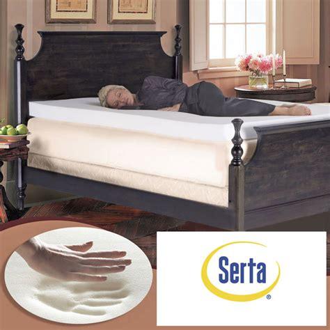 Serta 4 Inch Mattress Topper by Serta Ultimate 4 Inch Memory Foam Mattress Topper Improves