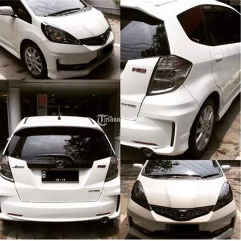 Stopl Jazz Rs 2013 Kanan honda jazz rs at tahun 2013 warna putih mobil terawat service rutin tangan pertama jakarta