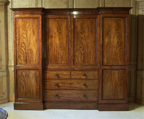 Large Wardrobe by Antique Regency Gillows Wardrobe Summers Davis Antiques Interiors
