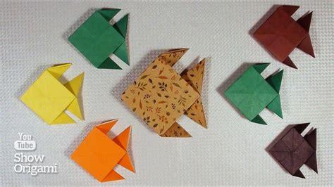 Origami Au - cara membuat origami ikan versi on the spot