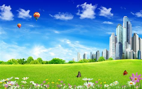 wallpaper pc taman 壁纸1680 215 1050阳光灿烂的夏天 绿色大自然和城市建设图片壁纸 阳光灿烂的夏天壁纸图片 风景壁纸 风景图片素材 桌面壁纸
