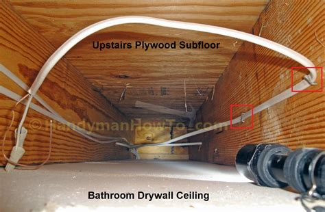 How To Replace A Bathroom Exhaust Fan And Ductwork Old