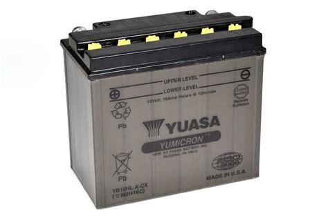 Motorrad Batterie Erhaltungsladeger T Test by Yb16hl A Cx Yumicron Cx Motorrad Powersport Batterien