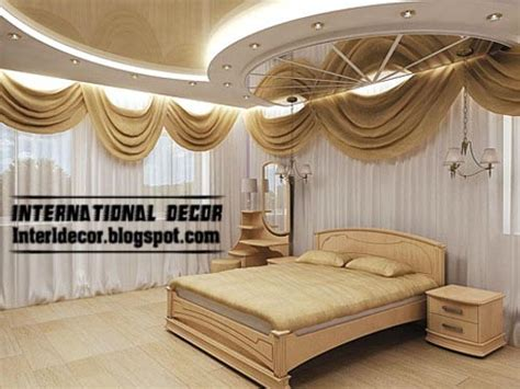 Modern Pop False Ceiling Designs For Bedroom Interior Bedroom Roof Designs