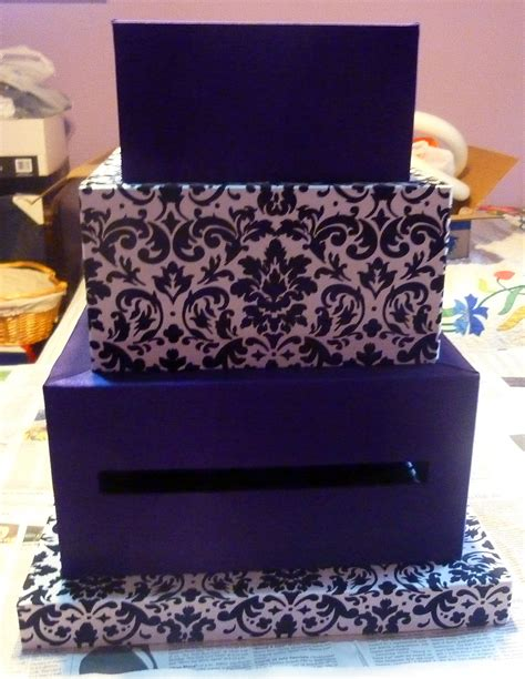 how to make a fabric covered wedding card box wedding card box 4 tier fabric covered crafts unleashed