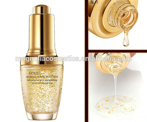 Serum Gold 24k 24k gold foil 2014 anti wrinkle anti aging serum magnolia