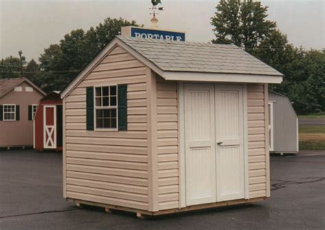 Salt Box Sheds by 8 X 8 Salt Box Style Shed Sb 7 Portable Buildings