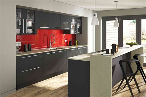 Shaker Door Kitchen Cabinets aspen graphite pebble kitchens