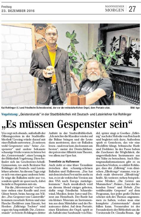 wann ist der nächste neumond balladenabend 2016 in der stadtbibliothek gsg mannheim