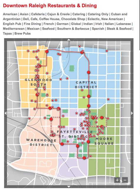 downtown raleigh map the downtown raleigh alliance sees itself partnering to