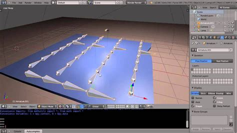 tutorial blender armature blender tutorial joining armatures and ik constraints